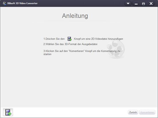 Xilisoft 3D Video Converter, 2D in 3D umwandeln