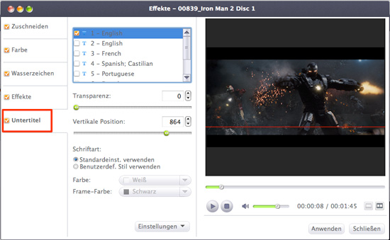 Xilisoft Blu-ray to iPad Converter Mac
