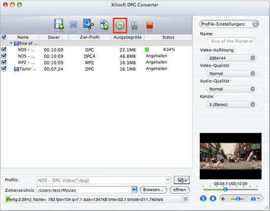 Xilisoft DPG Converter for Mac