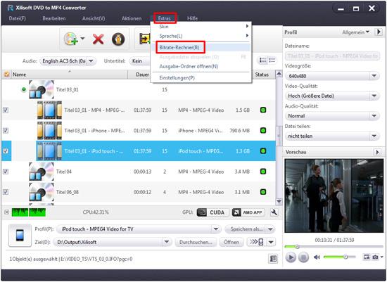 Xilisoft DVD to MP4 Converter