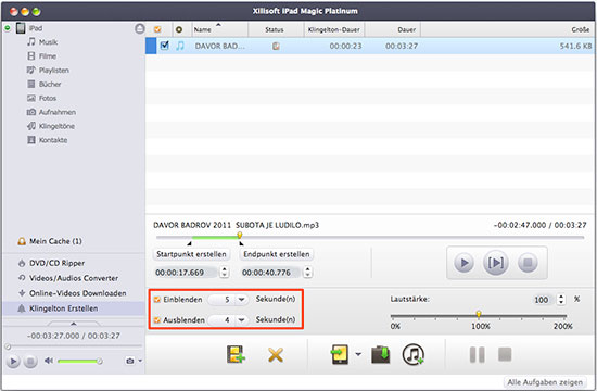xilisoft ipad magic platinum mac tutorial