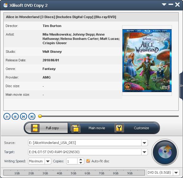 Xilisoft DVD Copy